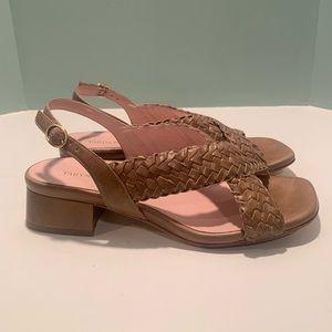 Taryn Rose woven ran sandals